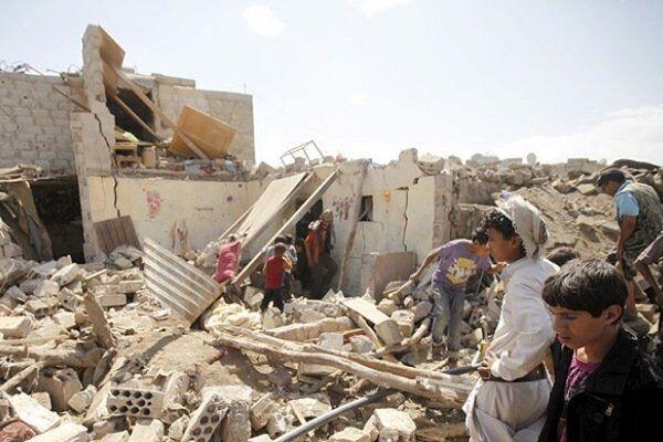 ادامه حملات هوایی ائتلاف سعودی به یمن