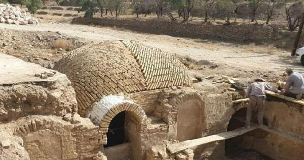 آغاز مرحله دوم عملیات بازسازی حمام تاریخی روستای وانشان گلپایگان