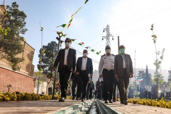 افتتاح و شروع ساخت چند طرح عمرانی در منطقه 6 شهرداری شیراز