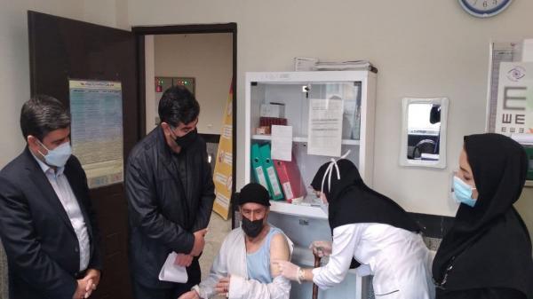 تزریق 12 هزار دوز واکسن کرونا به افراد اولویت دار در اردبیل