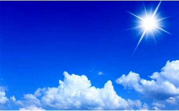 آسمان اغلب منطقه ها صاف است