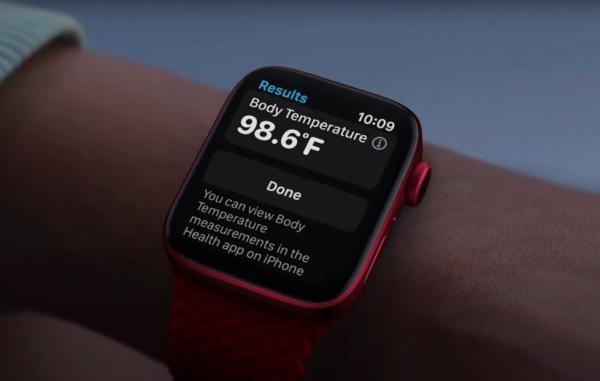 اپل واچ سری 8 دمای بدن شما را مقدار خواهد گرفت؛ به گفته مینگ، چی کو